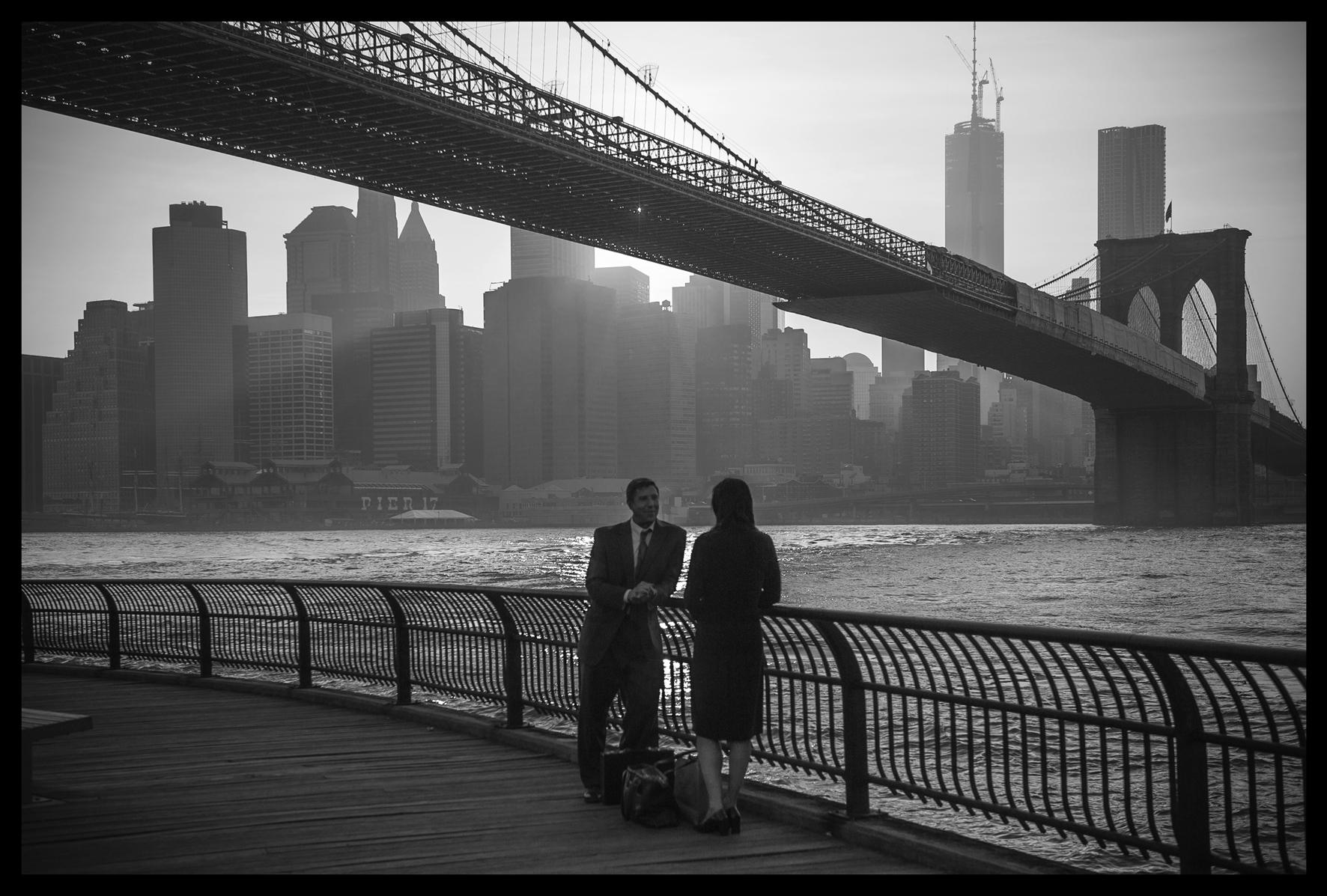 """Wystawa Włodzimierza Płanety """"Manhattan""""- photography"""" w Starbucks na Greenpoincie"""