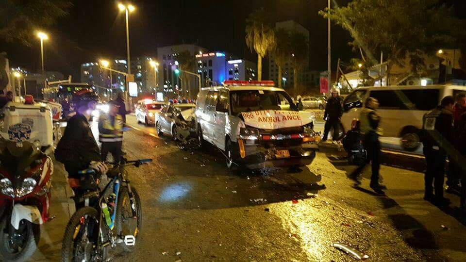 Kolizja pojazdów z kolumny premier Beaty Szydło w Izraelu