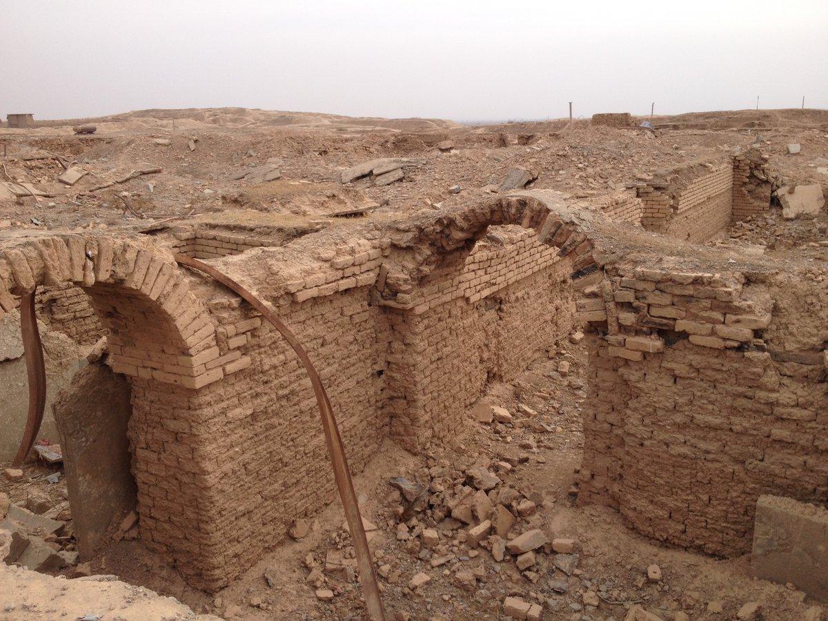 Antyczne miasto Nimrud, odbite z rąk ISIS, doszczętnie zniszczone