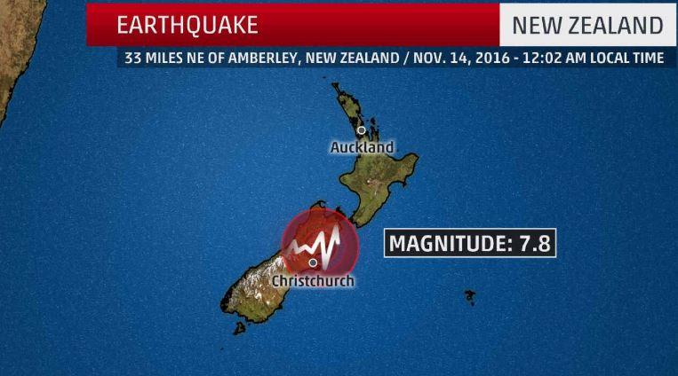 Silne trzęsienie ziemi w Nowej Zelandii. Ostrzeżenie przed tsunami