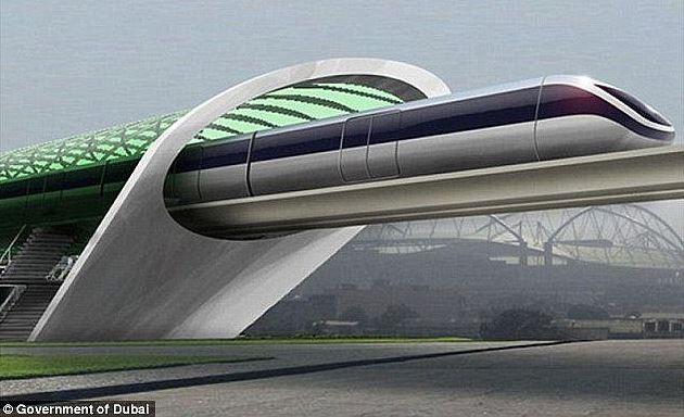 1200 kilometrów na godzinę. W Zjednoczonych Emiratach Arabskich pojedziemy najszybszym pociągiem na świecie