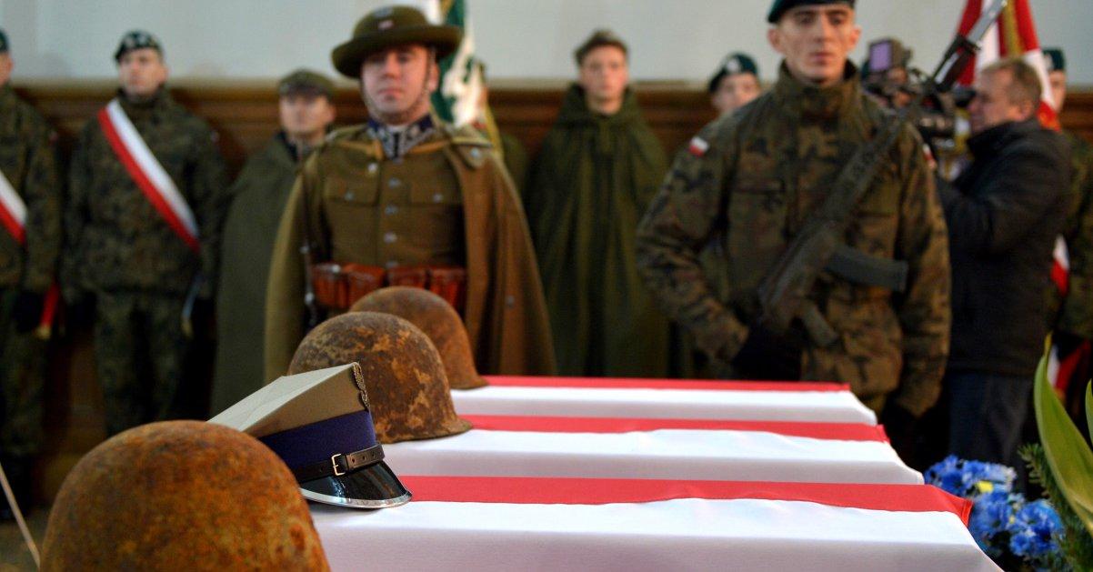 W Mościskach na Ukrainie pochowano 27 polskich żołnierzy poległych we wrześniu 1939