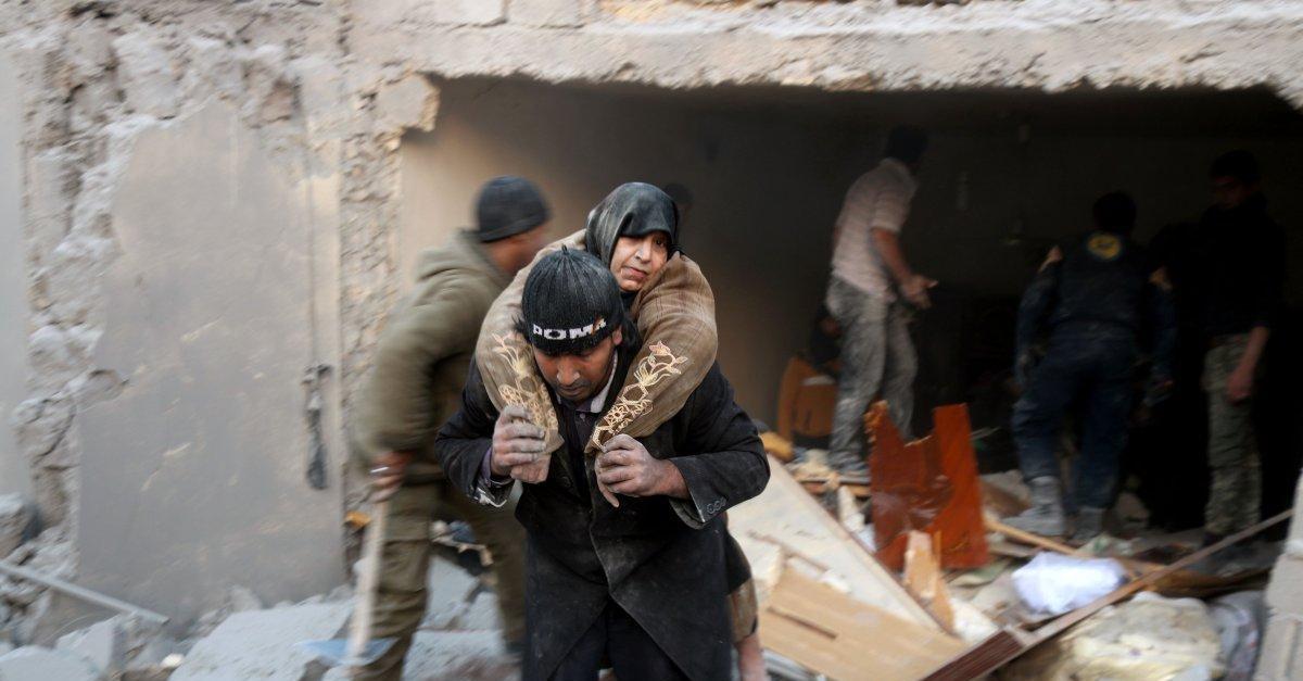 10 tysięcy cywilów w ciągu ostatniej doby uciekło z Aleppo