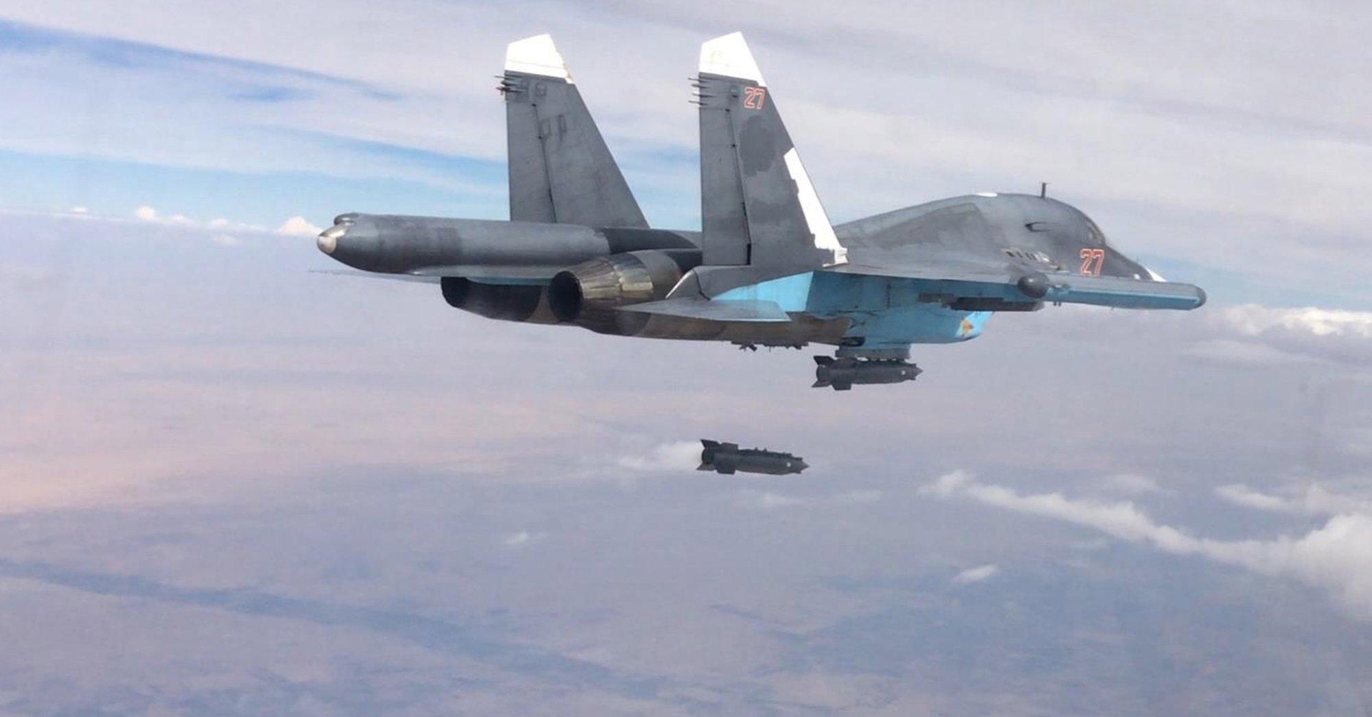 Omyłkowe zbombardowanie tureckich pozycji w Syrii przez Rosję