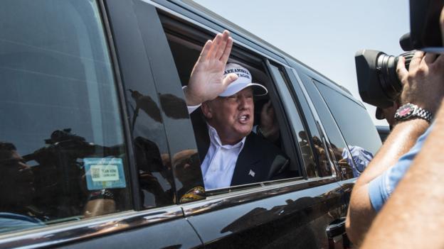Donald Trump dla CBS: Jako prezydent wezmę jednego dolara rocznie