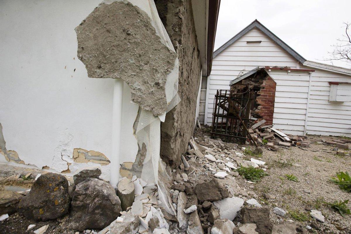Silne wstrząsy wciąż odczuwalne w Nowej Zelandii