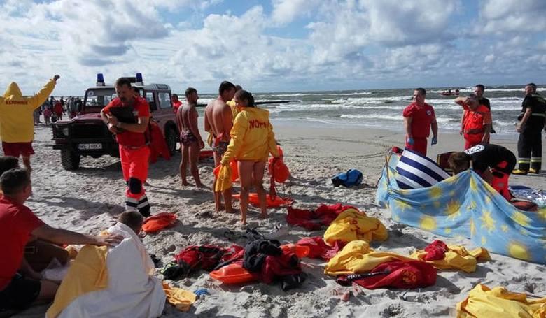 11-letnia córka utonęła w Bałtyku – ojciec usłyszał wyrok
