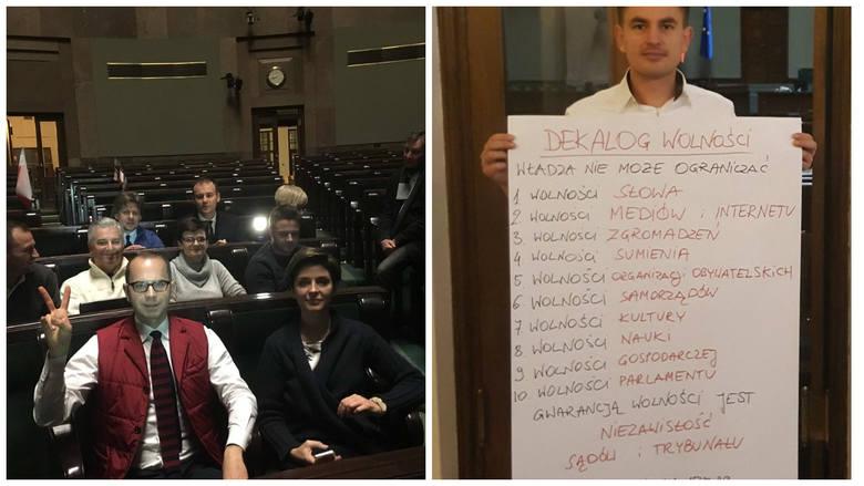 Opozycja święta spędziła w Sejmie