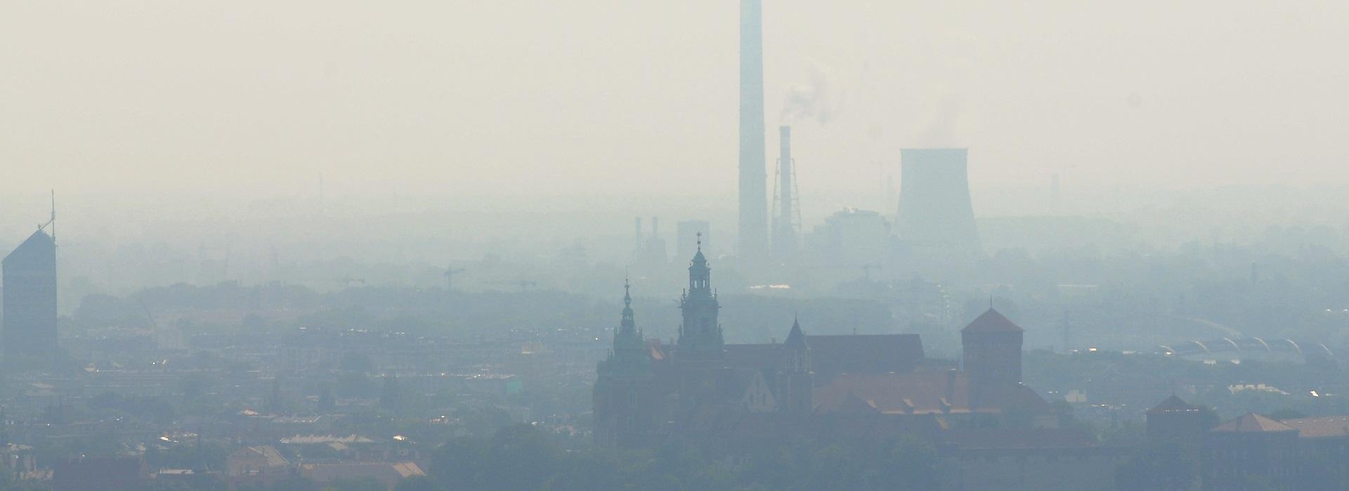 Kraków na drugim miejscu spośród miast z największym smogiem