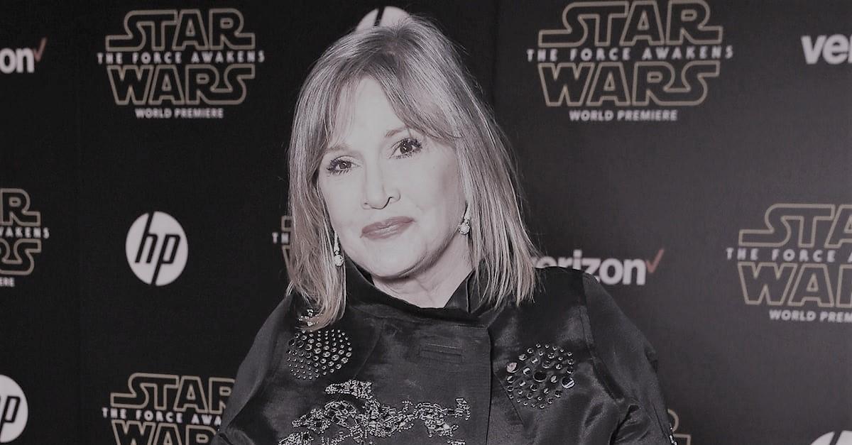 Księżniczka Leia nie żyje. Aktorka Carrie Fisher miała 60 lat