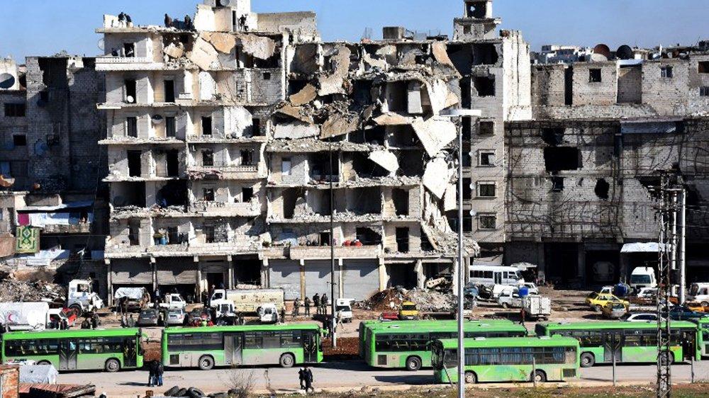 Ewakuacja w Aleppo wstrzymana przez syryjskie i rosyjskie siły rządowe
