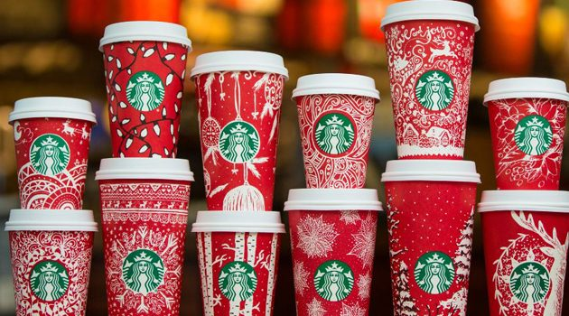 Świąteczna kawa od Starbucks za darmo