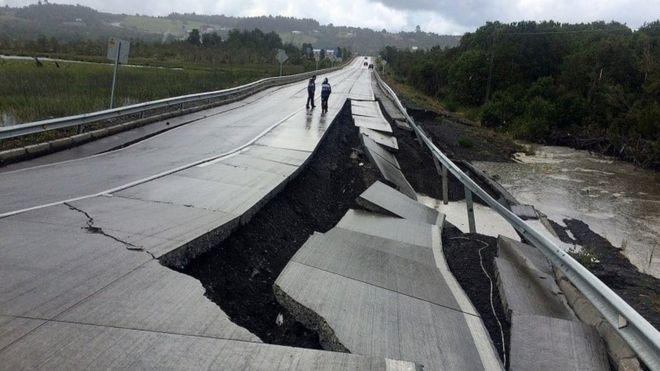 Trzęsienie ziemi w południowym Chile