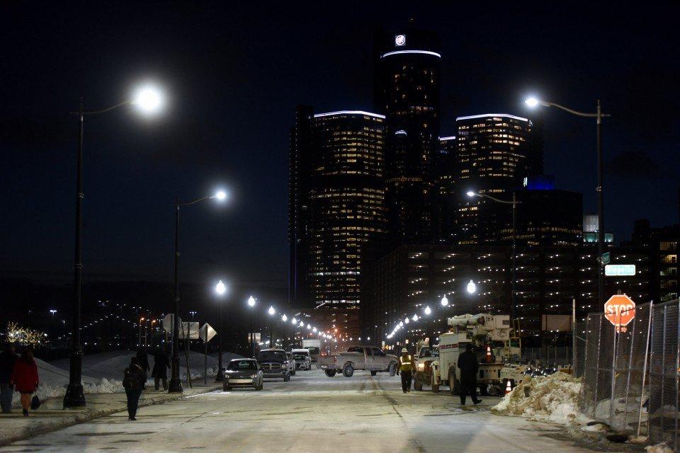 Detroit największym miastem w USA w całości oświetlonym przez latarnie LED