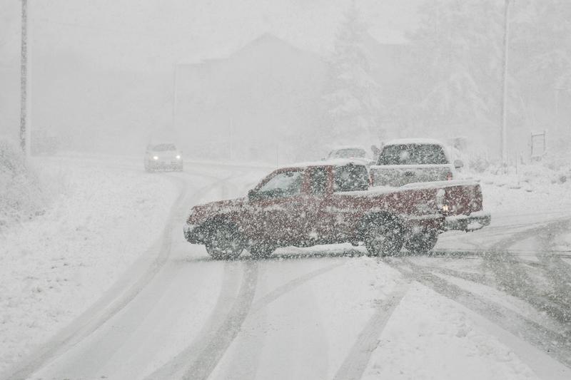 Atak zimy w północnej części USA