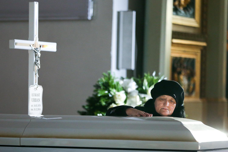 Zakończyły się uroczystości pogrzebowe Łukasza Urbana