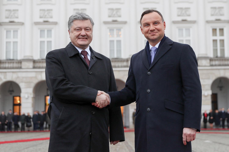 Prezydent Poroszenko rozpoczął wizytę w Warszawie