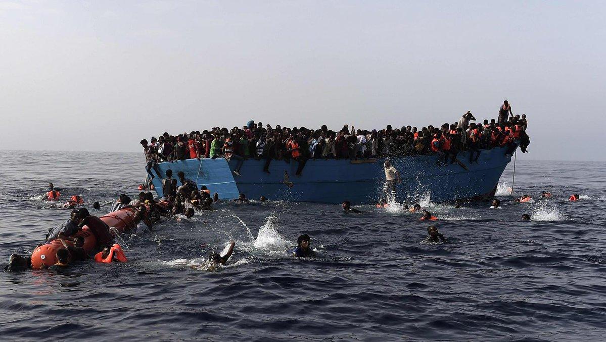 W Morzu Śródziemnym utonęło dziś 55 migrantów