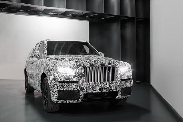 Rolls-Royce Cullinan – pierwszy SUV w rodzinie klasyka