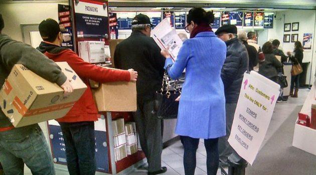 Świąteczny tydzień dla amerykańskiej poczty