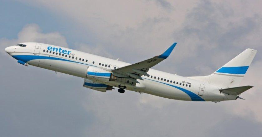 Samolot, który zderzył się z ptakami, bezpiecznie wylądował na Lotnisku Chopina