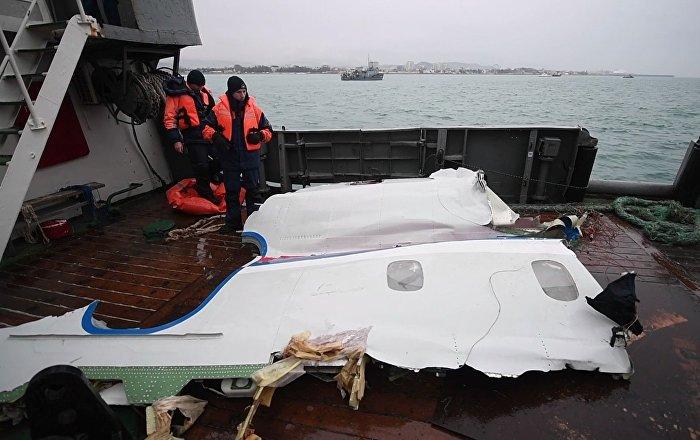Na elementach Tu 154 nie znaleziono śladów eksplozji ani pożaru