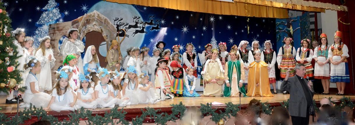 Przedstawienie świąteczne Dziecięcego Zespołu Krakowianek i Górali