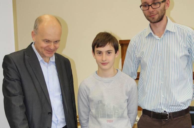"""13-latek na Politechnice Świętokrzyskiej:""""Czuję się tu, jak u siebie i nie mówię """"nie"""""""