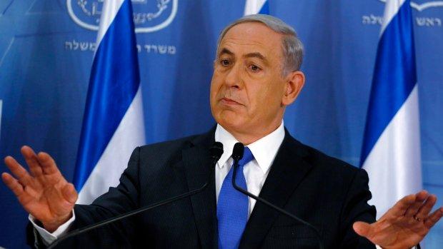 Atak rakietowy przerwał wiec wyborczy izraelskiego premiera