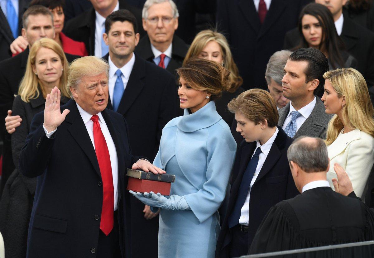 Donald Trump objął urząd prezydenta Stanów Zjednoczonych