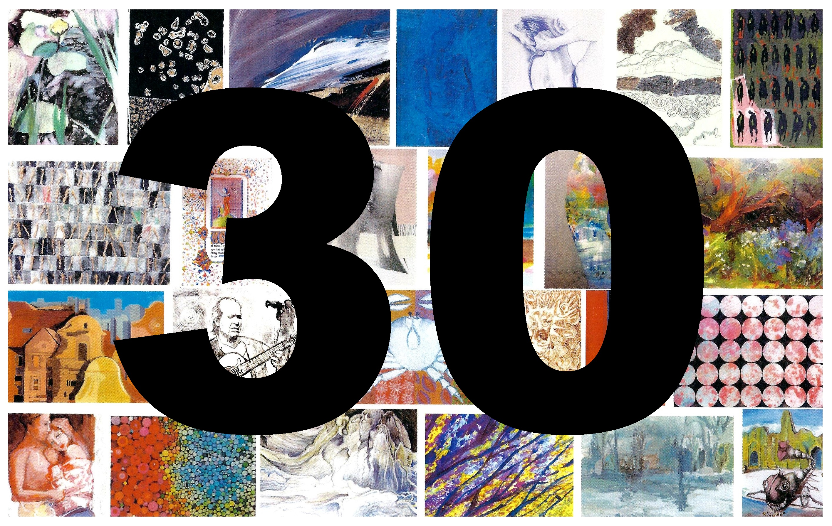 """EXHIBITION NO. 30""  w Galerii A.R  na Greenpoincie"