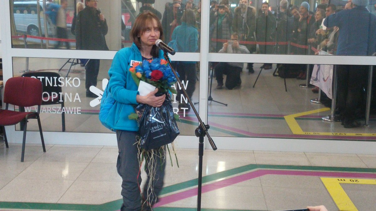 Małgorzata Wojtaczka, zdobywczyni Bieguna Południowego, wróciła do Polski