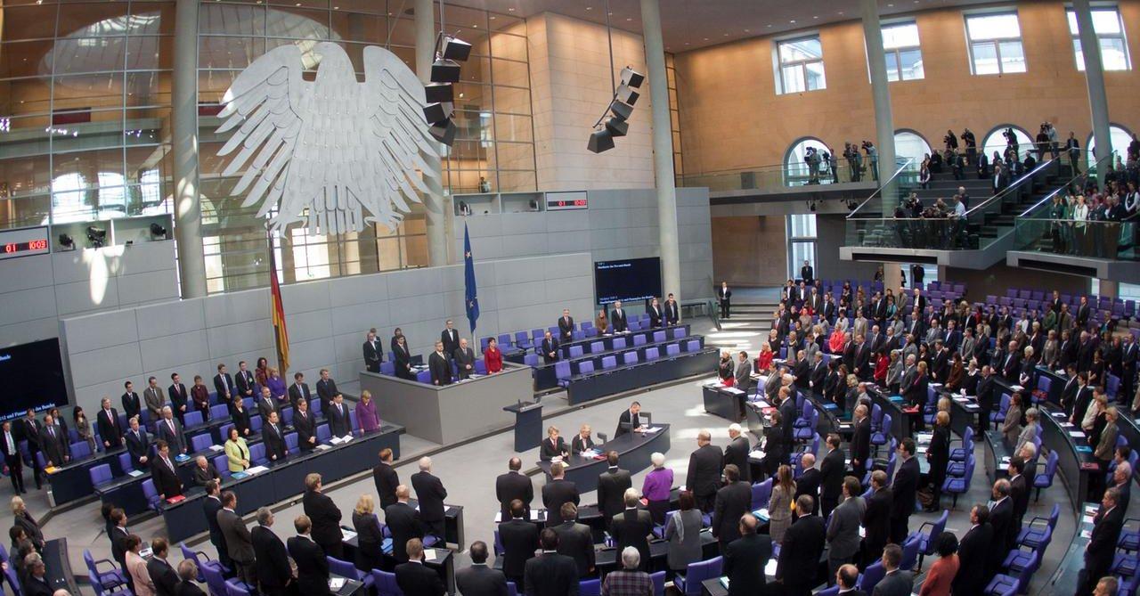 Bundestag oddał hołd ofiarom zbrodni nazistowskich