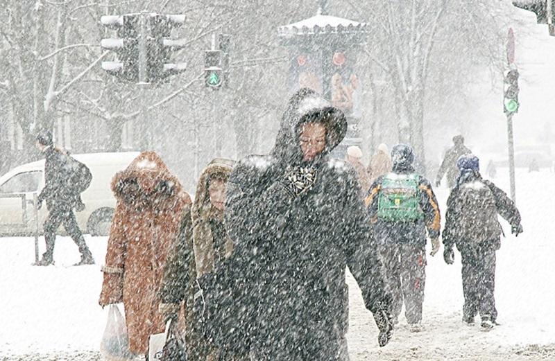 W kalendarzu wiosna a w Chicago pada śnieg