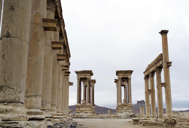 Zabytki w syryjskiej Palmyrze zniszczone przez dżihadystów ISIS