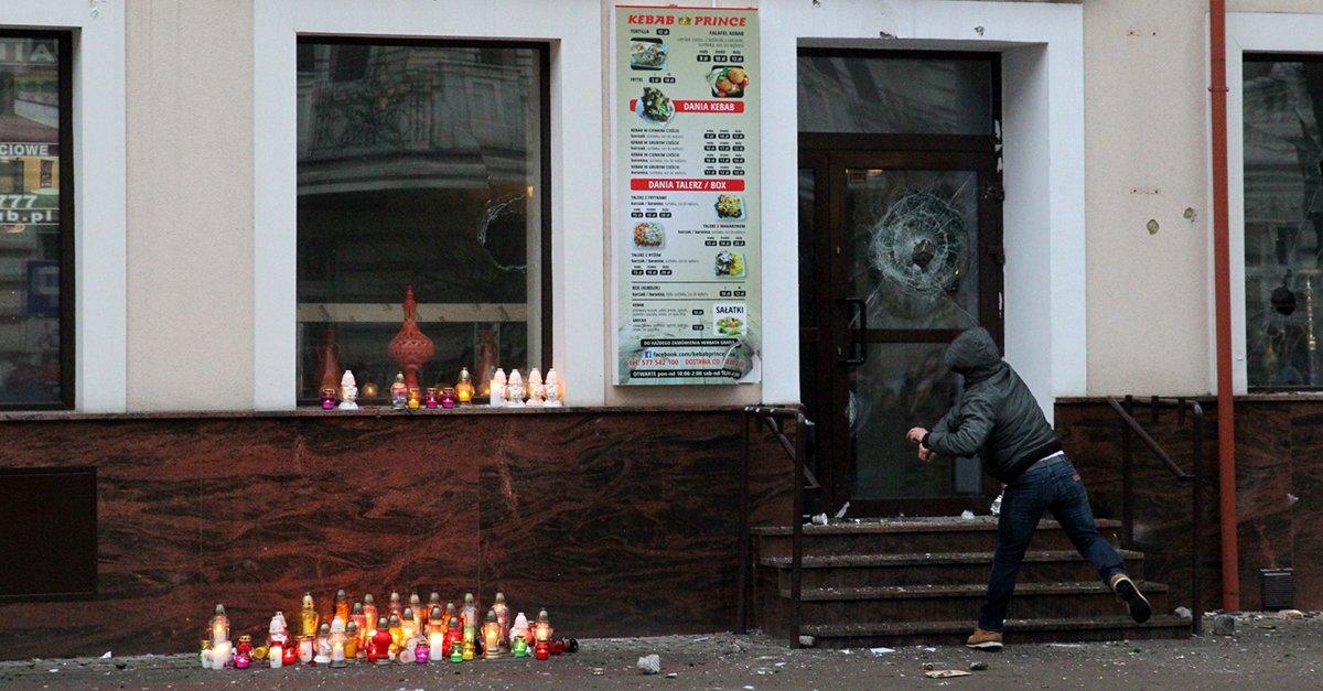 Zamieszki po zabójstwie 21-latka w Ełku