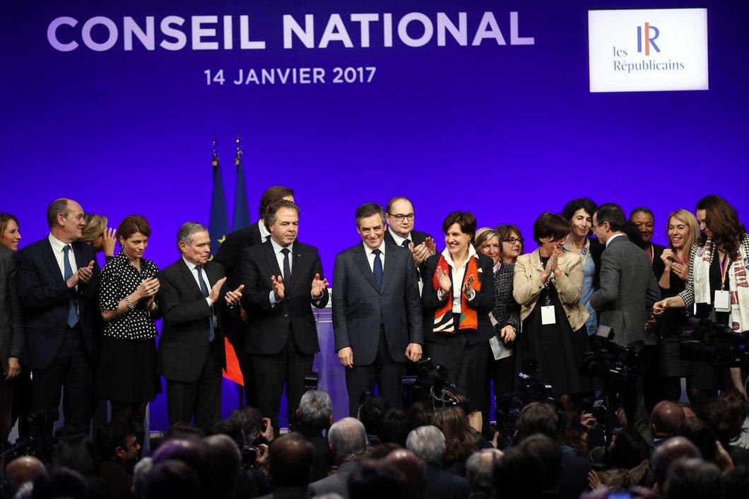 Francois Fillon kandydatem na prezydenta Francji