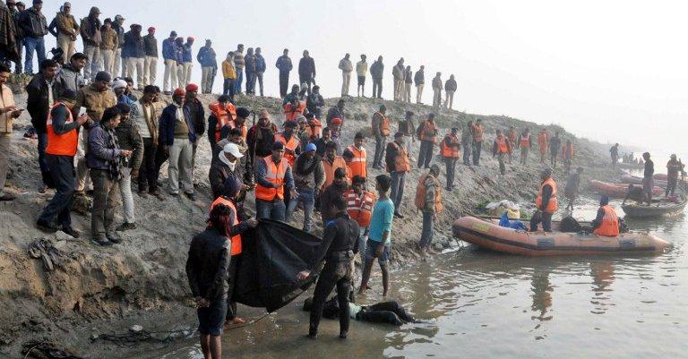 Co najmniej dwadzieścia sześć ofiar katastrofy promu w Indiach