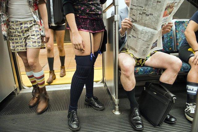 Dzisiaj Międzynarodowy Dzień Jazdy Metrem Bez Spodni