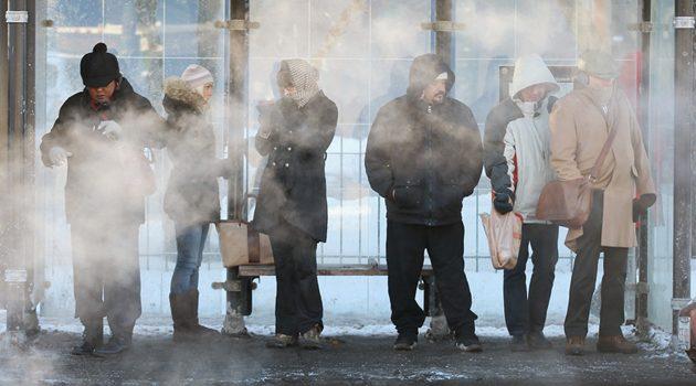 Chicago będzie ściskał mróz. Temperatura odczuwalna może spaść do minus 60 F!