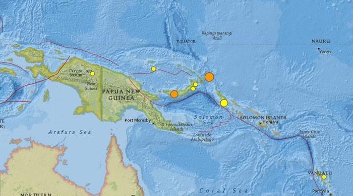 Trzęsienie ziemi w Papui-Nowej Gwinei