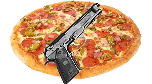 Ostrzelał pizzerię, bo za długo czekał na pizzę