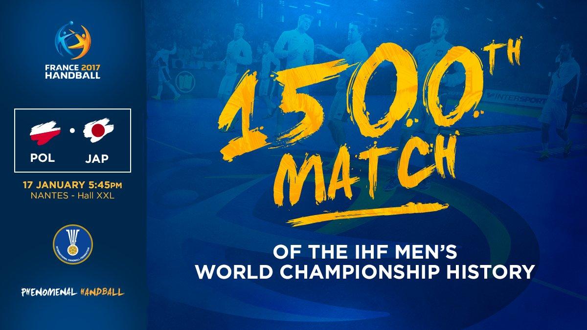 1500. mecz w historii mistrzostw świata w piłce ręcznej. Wygrali go Polacy!