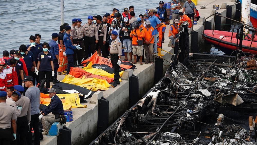 Indie: Spłonął pasażerski prom – zginęły co najmniej 23 osoby