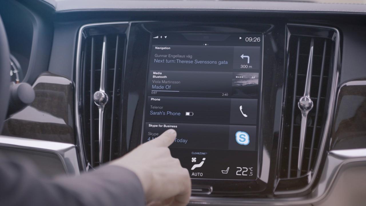 Skype w samochodzie? Już wkrótce w Volvo