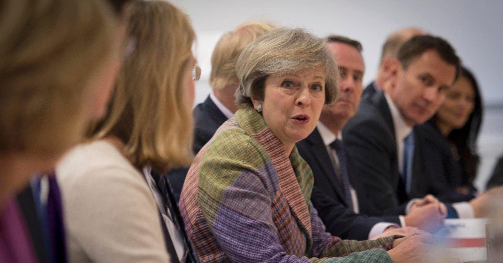 Premier Theresa May o domniemanej awarii programu nuklearnego odstraszania