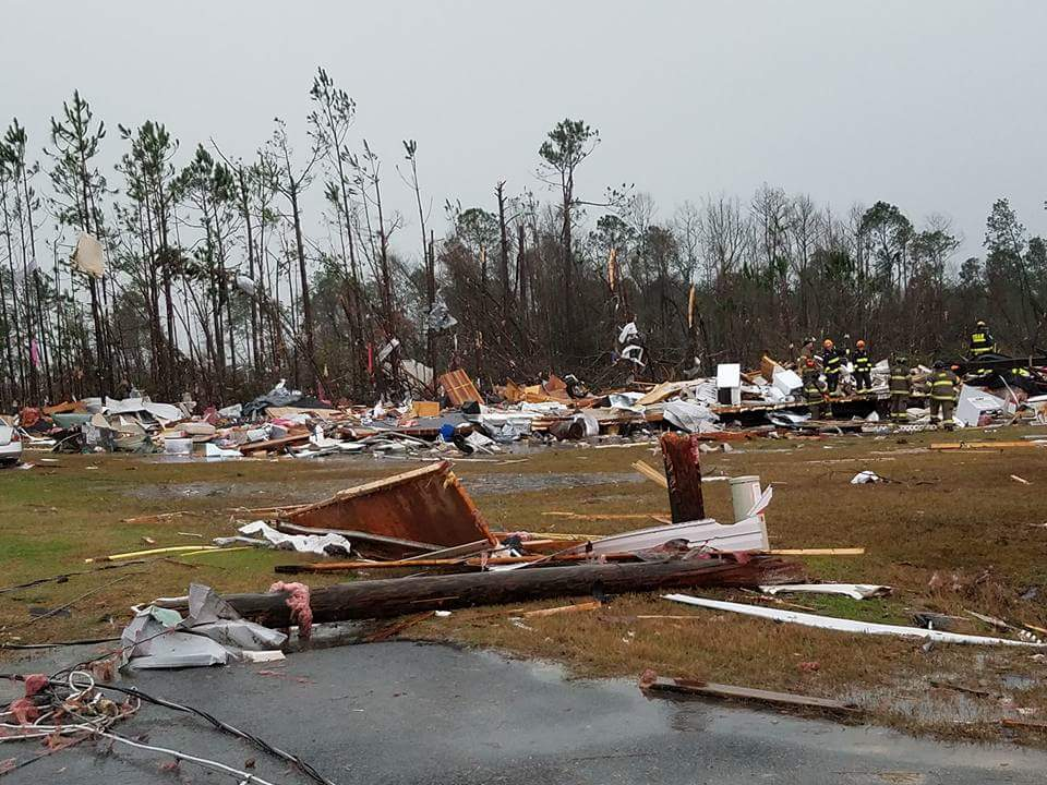 Co najmniej 19 ofiar tornad w południowo-wschodniej części USA