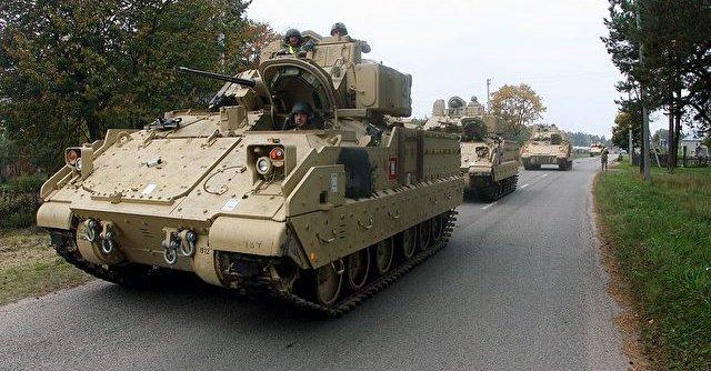 Wojsko i sprzęt USA już w Niemczech