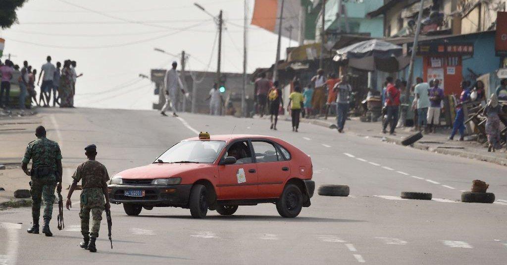 Rewolta żołnierzy na Wybrzeżu Kości Słoniowej