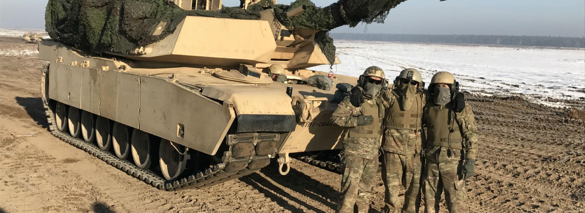 Amerykańscy żołnierze czują się u nas jak w domu